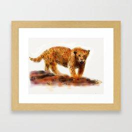 Jason Jaguar Framed Art Print