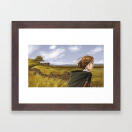 Jane Eyre Framed Art Print
