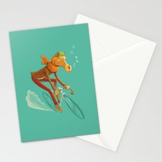 I want to ride my bicycle! Stationery Cards