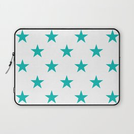 Stars (Eggshell Blue/White) Laptop Sleeve
