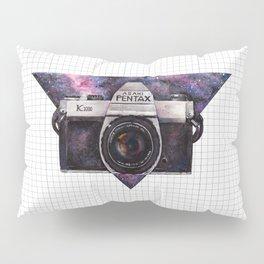 Pentax K1000 (Purple Nebula) Pillow Sham