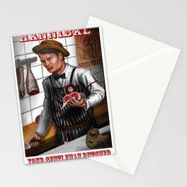 Hannibal - A gentleman butcher Tagline Stationery Cards