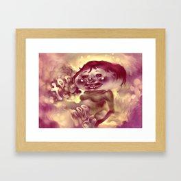 Tee Hee Framed Art Print