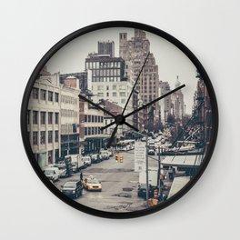 Tough Streets - NYC Wall Clock