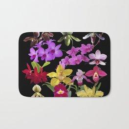 Orchids Galore Bath Mat