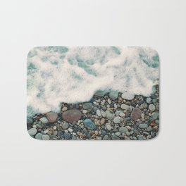 A Beautiful Spring Day at the Beach IV Bath Mat
