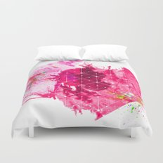 Splash1 Duvet Cover