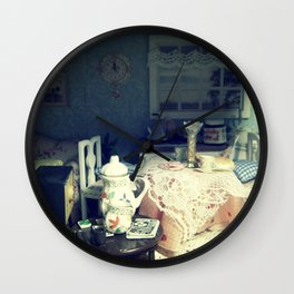 abandonded dollhouse Wall Clock