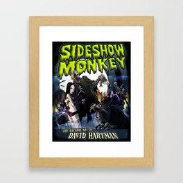SIDESHOW MONKEY Framed Art Print