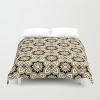 moroccan Duvet Covers featuring *Moroccan by Mr and Mrs Quirynen