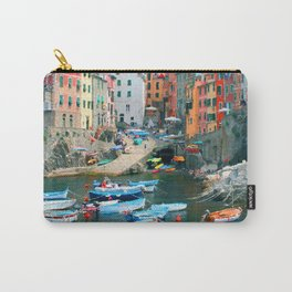 Italy. Cinque Terre marina Carry-All Pouch