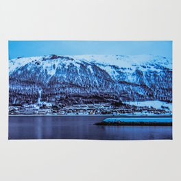 Across the fjord Rug