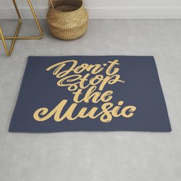 Dont Stop The Music Rug