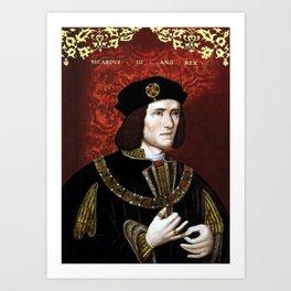 King Richard III of England Art Print