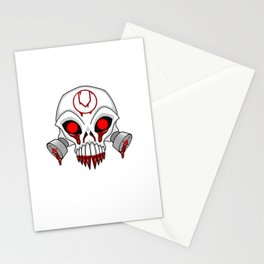 Cursed Chaos Skull Stationery Cards