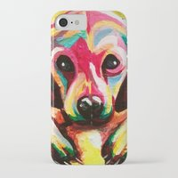 puppy iPhone & iPod Cases featuring Puppy by stepanka hejlova