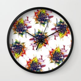 Bibbulman Bloom Wall Clock