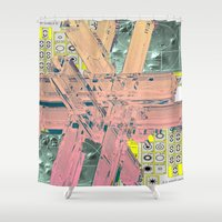 rare Shower Curtains featuring Rare Earth #1 by Cory Brown