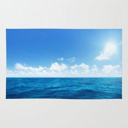 Open Ocean - Tropical Horizons Series Rug
