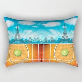 Paris Tennis Rectangular Pillow