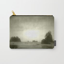Foggy Sea Stacks Carry-All Pouch