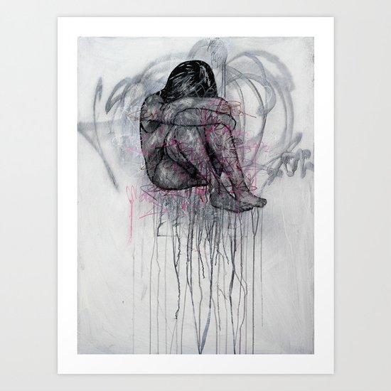 Trafficked Art Print