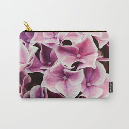 Lilac Hydrangea Carry-All Pouch