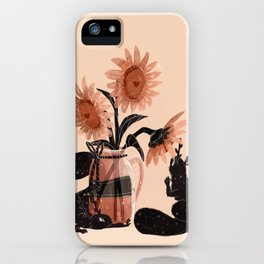 Sunfowers iPhone Case