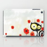 poppies iPad Cases featuring Poppies  by Katja Main