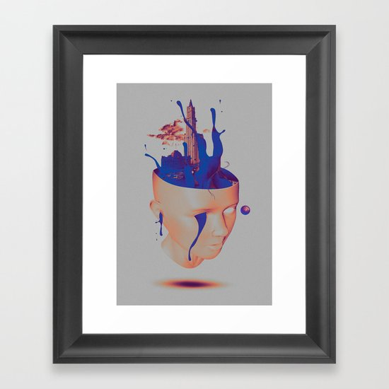 Plastic Life Framed Art Print