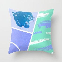 Go Panthers Throw Pillow