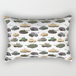 Multiple Battle Tanks Rectangular Pillow