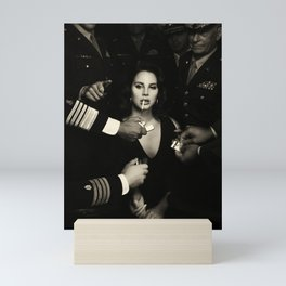Lana DelRey Smocking Cigarette Poster Mini Art Print