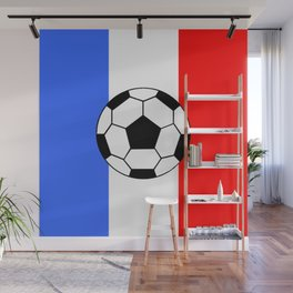 France Foot Wall Mural