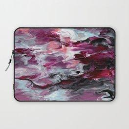 Raspberry Marble Laptop Sleeve