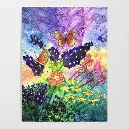 Bluebonnet Bouquet Poster