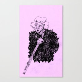 Flute Guy Canvas Print