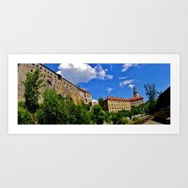 Czech Republic Art Print