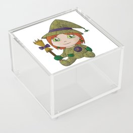 Little Witch Doll Acrylic Box