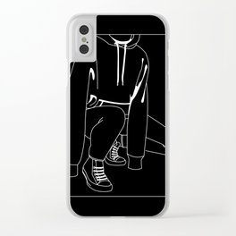 Hoodie Clear iPhone Case