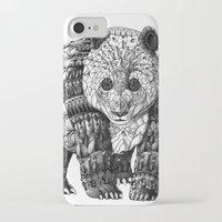 panda iPhone & iPod Cases featuring Panda by BIOWORKZ