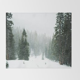 Winter Pace Throw Blanket