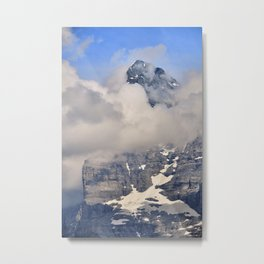 Emblematic Eiger. 3,967-meters. Alps Metal Print