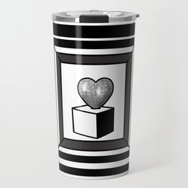 heart maze . Travel Mug