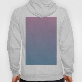 YOUTHFUL WATERS - Minimal Plain Soft Mood Color Blend Prints Hoody