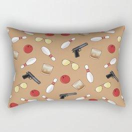 Lebowsky Pattern  Rectangular Pillow