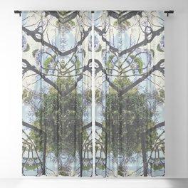 Natural Pattern No 1 Sheer Curtain