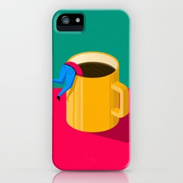 i need a coffee iPhone Case