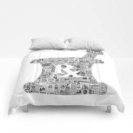 Pharmacy, pharmacy sign, medical, medicine, doctor gift: PANACEA Comforters