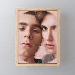 STARRY EYES Framed Mini Art Print